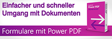 Formulare mit Power PDF