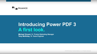 Introducing Power PDF Advanced 3: A First Look