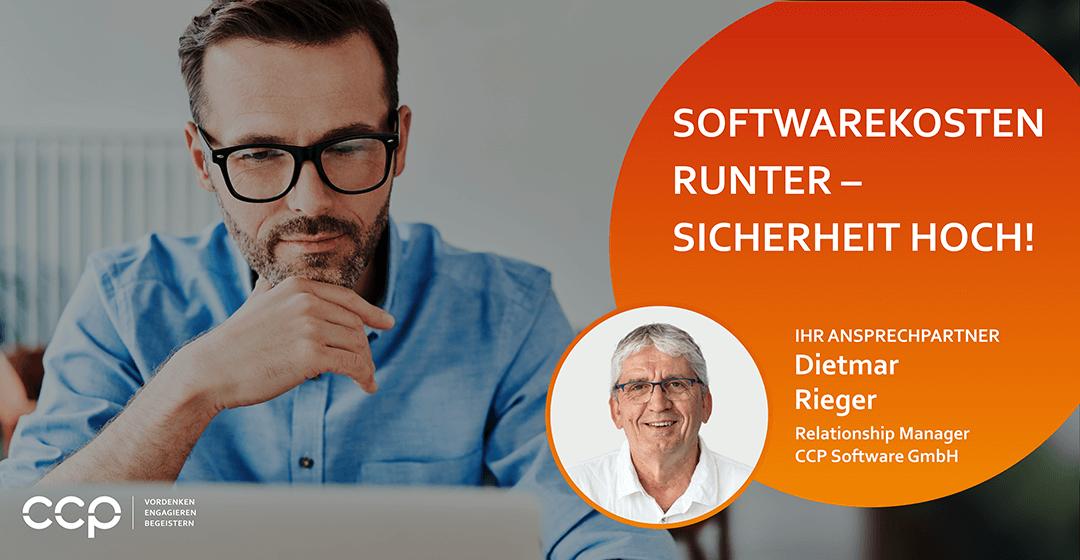 Softwarekosten runter – Sicherheit hoch!