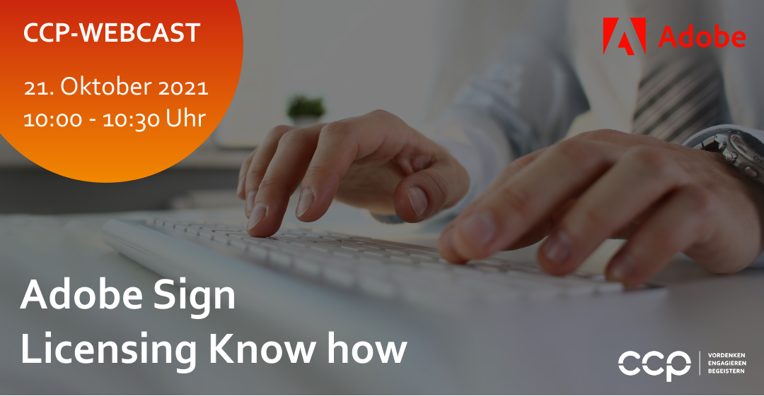 CCP Webcast: Adobe Sign Licensing Know How