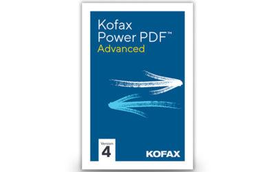Kofax Power PDF Advanced 4