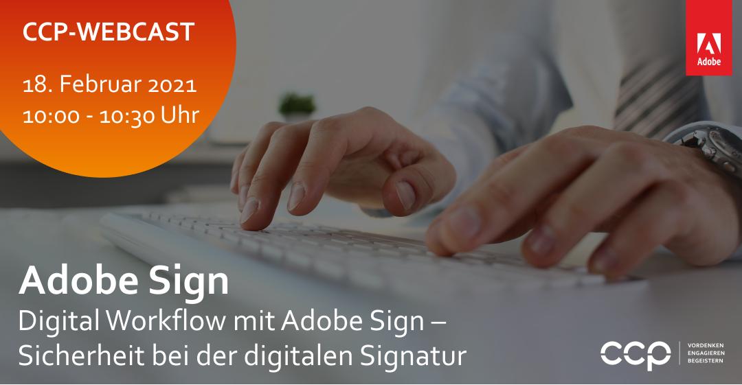 Digital Workflow mit Adobe Digital